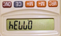 Calculator Spelling